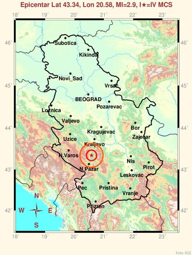 Da Li Ste Osetili Zemljotres U Jutarnjim Casovima Studenica Online